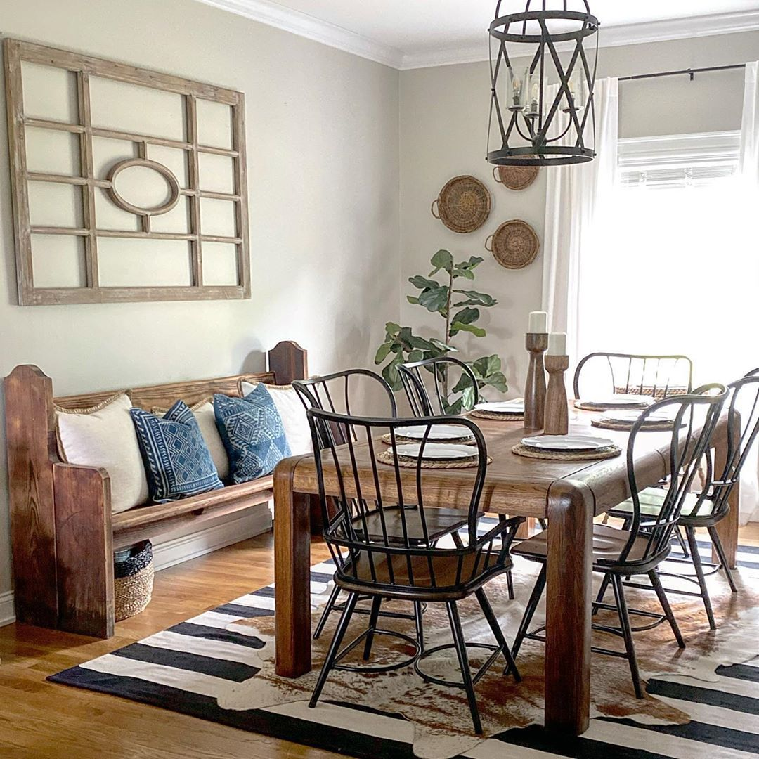 The Elements of a Shabby Chic Dining Room