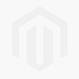 Red Round Metal Wall Clock