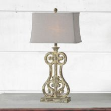 Ornate Provincial Table Lamp Set of 2