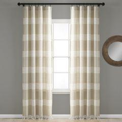 Tucker Stripe Curtain Panel Set of 2