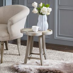 Classic Curves Accent Table