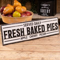 Distressed Fresh Baked Pies Sign