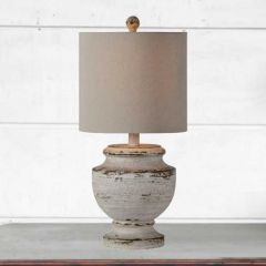 Classic Weathered Table Lamp