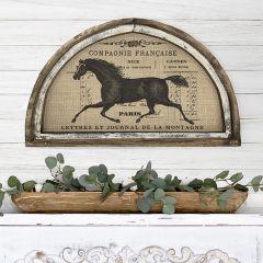 Horse Wall Arch Decor