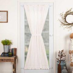 Classically Simple Door Curtain Panel