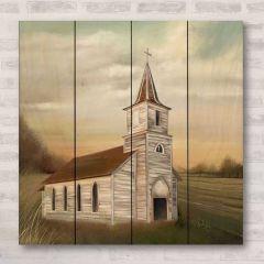 Old Church House Wall Art