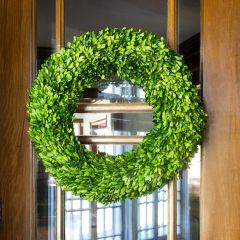 24 Inch Extra Large Preserved Boxwood Wreath