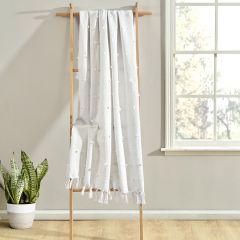 Boho Tufted Tassel Throw Blanket
