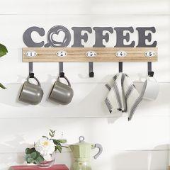 Coffee Wall Hook Sign