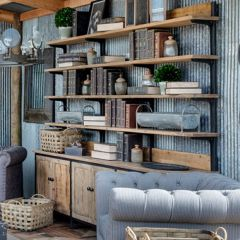 Industrial Inspiration Wall Shelf Unit