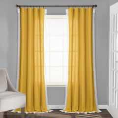 Bright Beauty Country Curtain Panel Set of 2