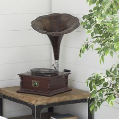 Decorative Tabletop Gramophone