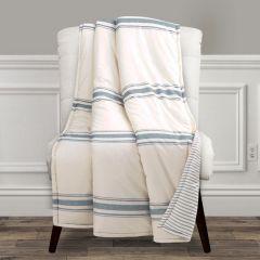 Farmhouse Stripe Throw Blanket
