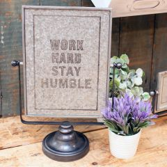 Stay Humble Tabletop Sign