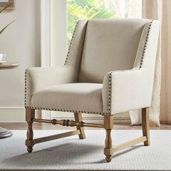 Classic Neutral Accent Chair