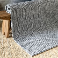 Woven Felted Wool Rug