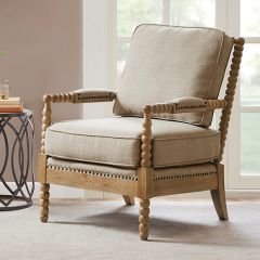Handsome Upholstered Accent Chair