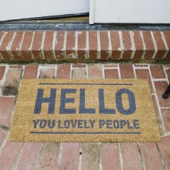 Lovely People Classic Coir Doormat