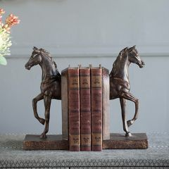 Regal Trotting Horse Bookends