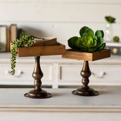 Pedestal Display Risers Set of 2