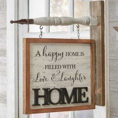 Happy Home Arrow Sign Replacement