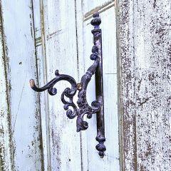 Ornate Leafwork Wall Hook