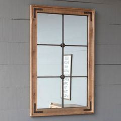 Warehouse Window Frame Wall Mirror