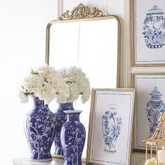 Simple Elegance Framed Mirror