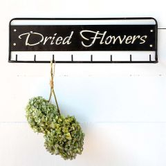 Dried Flowers Wall Rack