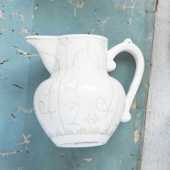 Classical Style Stoneware Pitcher
