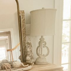 Chic Rustic Table Lamp