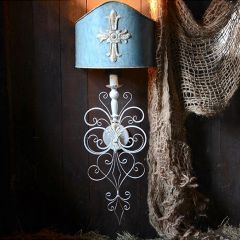 Shield Style Wall Sconce