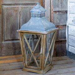 Tudor Cross Hatch Lantern