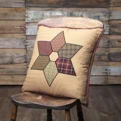 Country Star Pattern Pillow