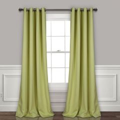 Simple Style Blackout Curtain Panel Set of 2