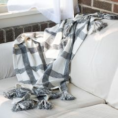 Hand Woven Patterned Throw Blanket