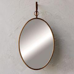 Oval Wall Mirror With Bracket