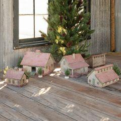 Barnyard Building Diorama Collection Set of 5