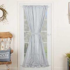 Ticking Stripe Door Panel Curtain