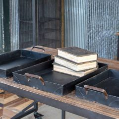 Industrial Office Trays Set of 3