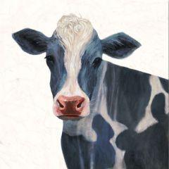 Farm Cow Canvas Wall Art