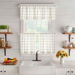 Cottage Plaid Curtains