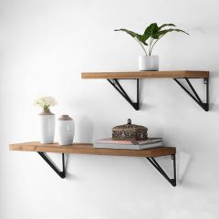 Industrial Modern Wall Shelf Set of 2