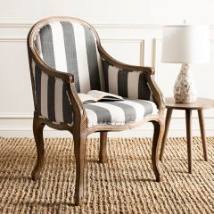 French Country Stripe Armchair