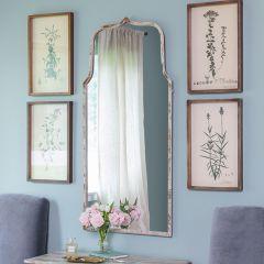 Keyhole Shape Wall Mirror