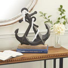 2 Anchor Rustic Tabletop Sculpture