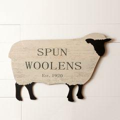Spun Woolens Sheep Wall Art