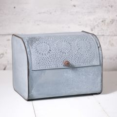 Weathered Zinc Breadbox