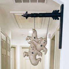 Black Wood Arrow Wall Hanger