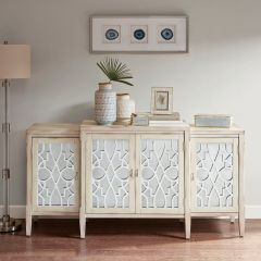 Chic Farmhouse Sideboard Cabinet